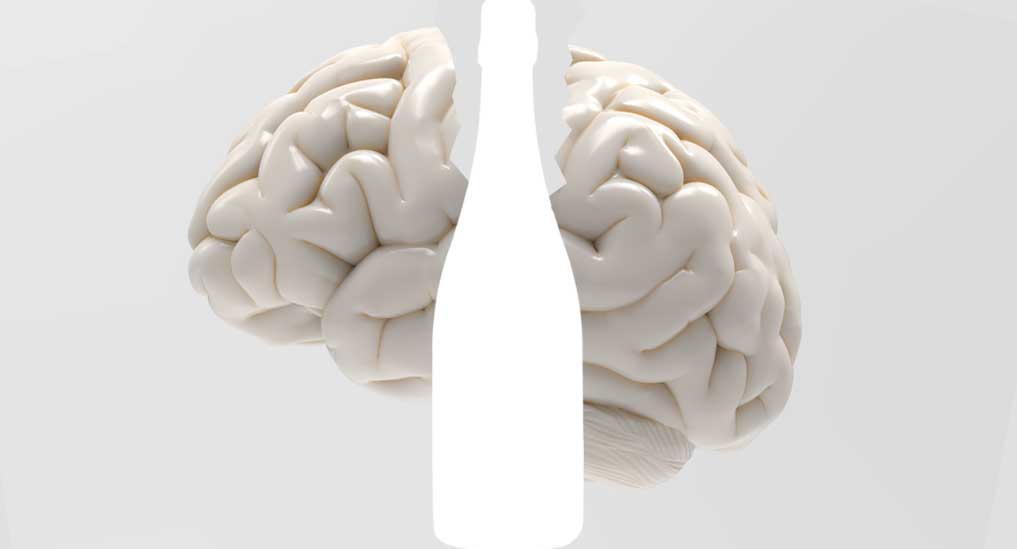Alcohol-induced brain damage can continue during abstinence