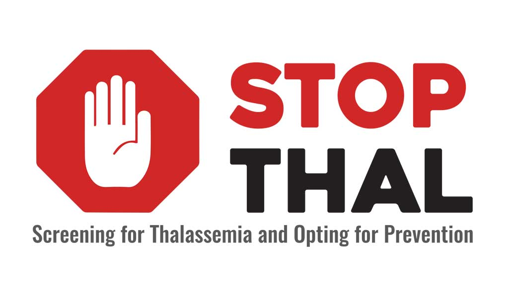 Stop Thal to prevent thalassemia