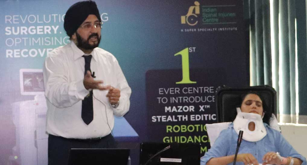 ISIC successfully performs complex spinal surgeries through advanced robotics