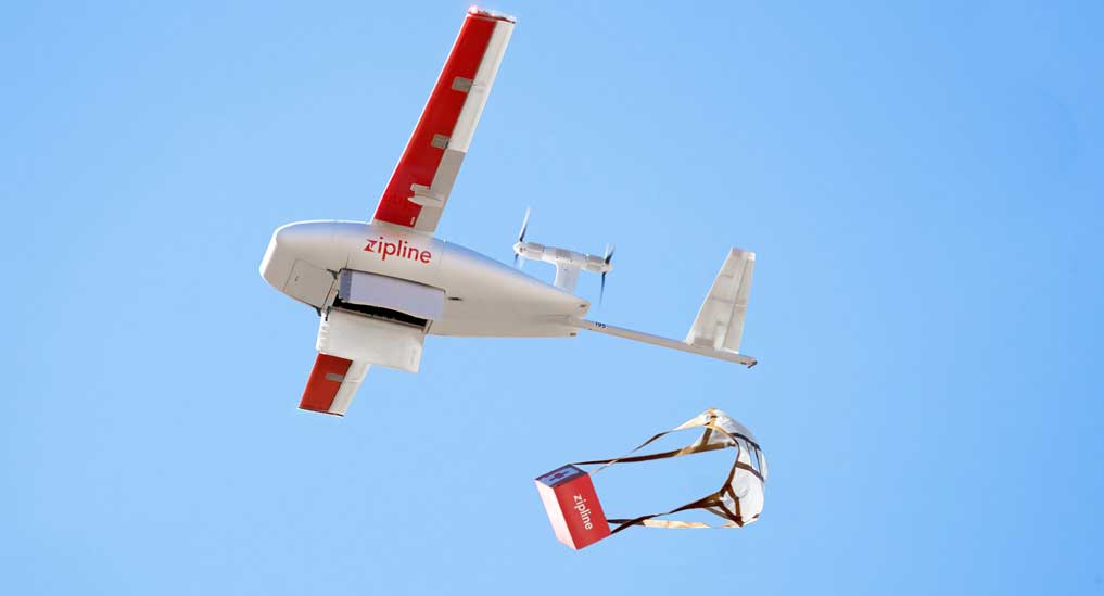Maharashtra government ties up with Zipline drone service to deliver medicine across state