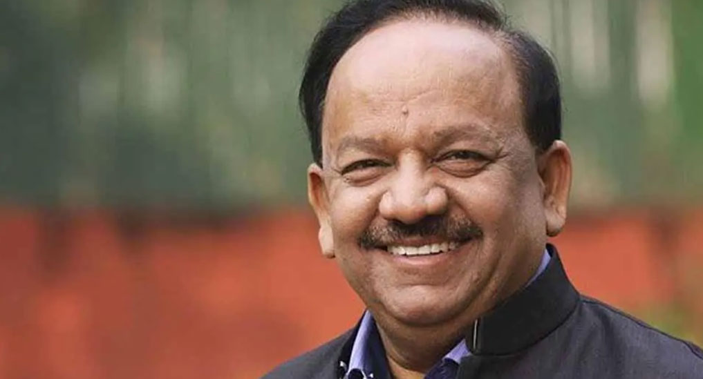 India to chair WHO executive board; Dr Harsh Vardhan to take charge on May 22