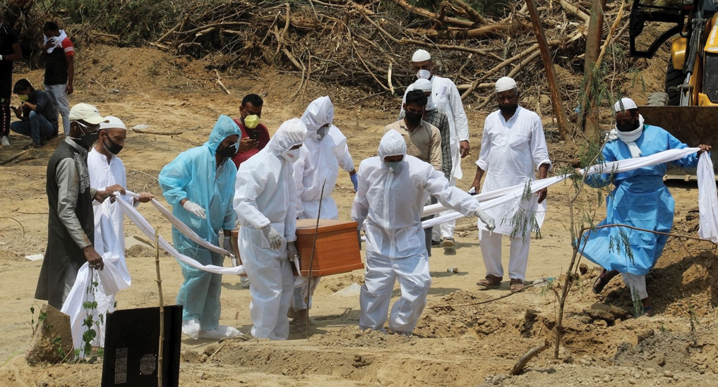 India's deaths during pandemic may be 10 times the official toll, Research says